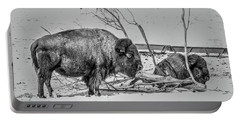 Where The Buffalo Rest Portable Battery Charger