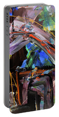 Where The Smiles Roam Abstract  Portable Battery Charger