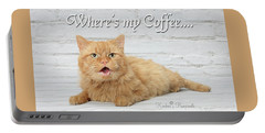 Where's My Coffee? Portable Battery Charger