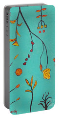 Whimsical Abstract  Portable Battery Charger