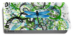 Whimsical Dragonflies Portable Battery Charger