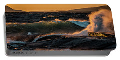 Portable Battery Charger featuring the photograph Whipped by Doug Gibbons