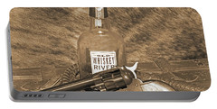 Whiskey And A Gun Portable Battery Charger