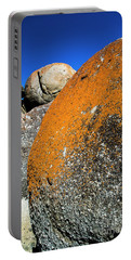 Portable Battery Charger featuring the photograph Whisky Rocks by Angela DeFrias