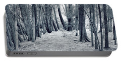 Portable Battery Charger featuring the photograph Whispering Forest by Wayne Sherriff