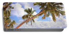 Whispering Palms. Maldives Portable Battery Charger