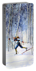 Whispering Tracks Portable Battery Charger by Hanne Lore Koehler