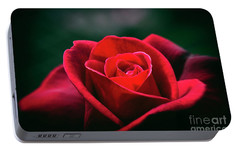 Portable Battery Charger featuring the photograph Whispers Of Passion by Linda Lees