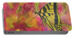 Whispers Of Wings And Petals Portable Battery Charger