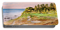 Whistling Straits Golf Course 17th Hole Portable Battery Charger by Bill Holkham