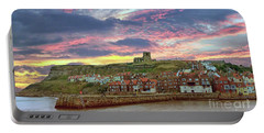 Whitby Abbey Uk Portable Battery Charger