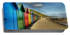 Whitby Beach Huts Portable Battery Charger