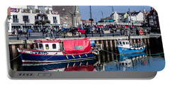 Whitby Harbor, United Kingdom Portable Battery Charger