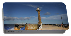 Whitby Lighthouse Portable Battery Charger