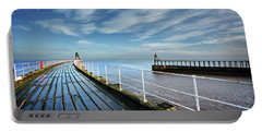 Whitby Piers Portable Battery Charger