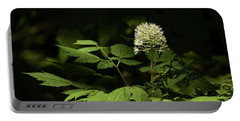 White Baneberry Portable Battery Charger