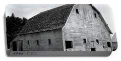 White Barn Portable Battery Charger by Julie Hamilton