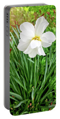 White Beauty Portable Battery Charger