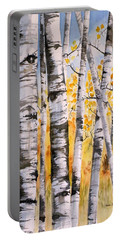 White Birch Meadow Portable Battery Charger