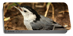 White Breasted Nuthatch 2 Portable Battery Charger