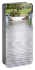 White Bridge Portable Battery Charger