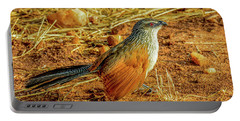 White-browed Coucal Portable Battery Charger