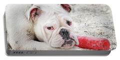 White Bull Dog Portable Battery Charger