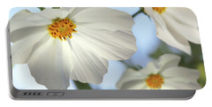 White Cosmos-2 Portable Battery Charger