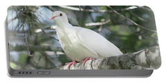 White Dove Messenger Portable Battery Charger