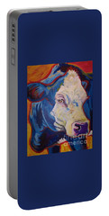 White Face Cow Portable Battery Charger