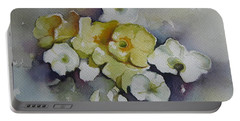 White Flowers, Yellow Flowers... Portable Battery Charger