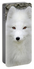 White Fox Portable Battery Charger