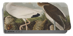 White Ibis Portable Battery Charger by John James Audubon