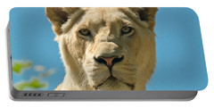 White Lion Portable Battery Charger