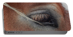 White Mane's Eye Portable Battery Charger