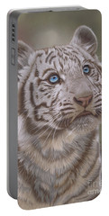 White Mischief Portable Battery Charger