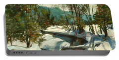 White Mountain Winter Creek Portable Battery Charger
