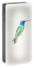 White-necked Jacobin Portable Battery Charger