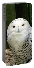 White Owl Portable Battery Charger