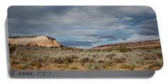 White Pocket Meets Vermillion Cliffs Portable Battery Charger by Anne Rodkin