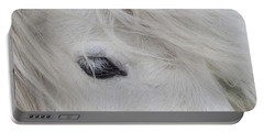 White Pony Portable Battery Charger