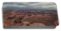 White Rim Overlook Portable Battery Charger by Alan Vance Ley