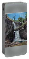 White River Falls Portable Battery Charger