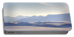 White Sands Blue Sky Portable Battery Charger