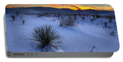 White Sands Sunset Portable Battery Charger