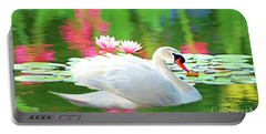 White Swan Portable Battery Charger