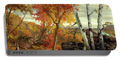 White-tailed Deer In The Poconos Portable Battery Charger