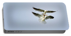 White-tailed Kites Food Exchange Portable Battery Charger