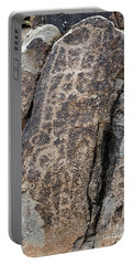 White Tank Petroglyphs #1 Portable Battery Charger by Anne Rodkin