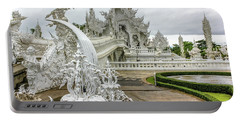 White Temple Thailand Portable Battery Charger